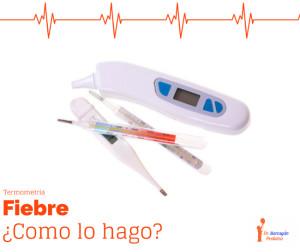 ¿Cómo medir la temperatura de tu hijo? Termometría