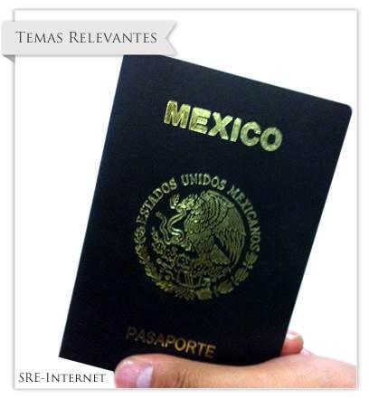Tramite del Pasaporte Mexicano